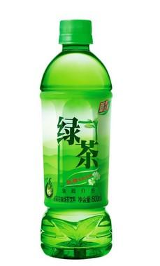 绿茶灌装效果