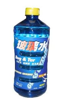玻璃水灌裝效果