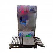 大桶玻璃水称重灌装机